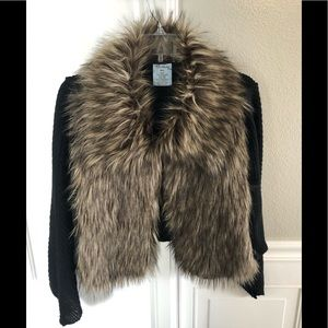 Short Fur Cape